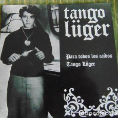 Discos de vinilo: TANGO LÜGER / CROMOSOMA 3 – PARA TODOS LOS CAIDOS - EP VINILO NARANJA. Lote 112993183