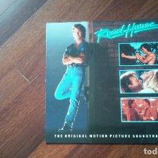 Discos de vinilo: ROAD HOUSE-THE ORIGINAL MOTION PICTURE SOUNDTRACK.LP ESPAÑA. Lote 85190892