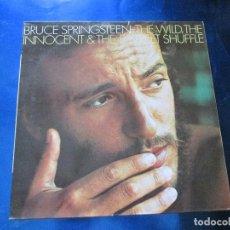 Discos de vinilo: LP-BRUCE SPRINGSTEEN:THE WILD,THEINNOCENT &THE E STREET SHUFFLE-CBS-1976-NUEVO. Lote 85193768