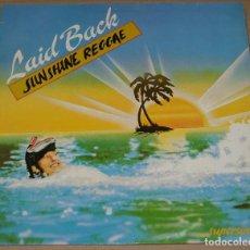 Discos de vinilo: LAID BACK,SUNSHINE REGGAE DEL 83. Lote 128690664