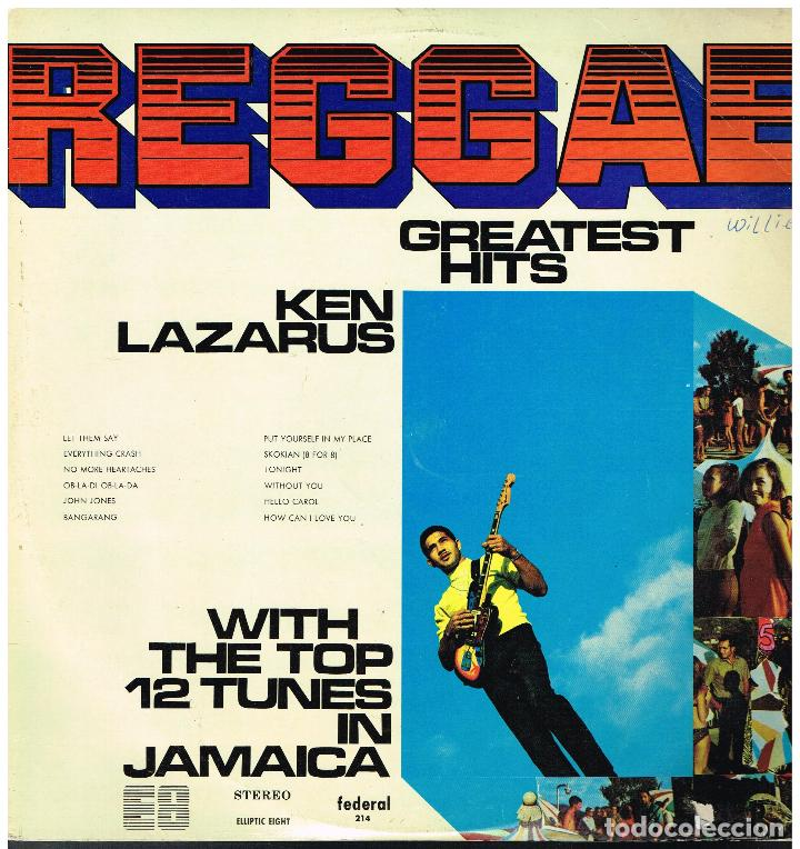 KEN LAZARUS - REGGAE. GREATEST HITS - LP (Música - Discos - LP Vinilo - Reggae - Ska)