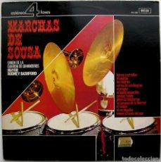 Discos de vinilo: BANDA DE LA GUARDIA DE GRANADEROS - MARCHAS DE SOUSA - LP DECCA 4 FASES 1981 BPY. Lote 85210964