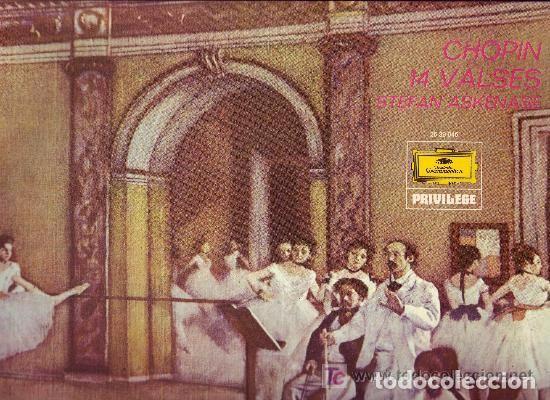 CHOPIN LO 14 VALSES PIANO STEFAN ASKENASE (Música - Discos - Singles Vinilo - Clásica, Ópera, Zarzuela y Marchas)