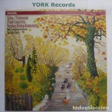Discos de vinilo: GRIEG SCHUMANN PIANO CONCERTOS KOVACEVICH BBC ORCHESTRA. Lote 85212008