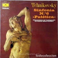 Discos de vinilo: INFONÍA Nº6. PATÉTICA. TCHAIKOVSKY (1975) . Lote 85212276