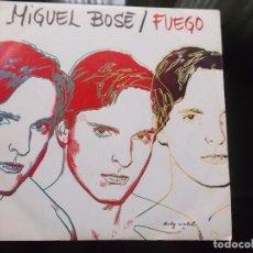 Discos de vinilo: MIGUEL BOSE FUEGO 1983 PROMOCIONAL CBS ESPAÑA. Lote 85214688