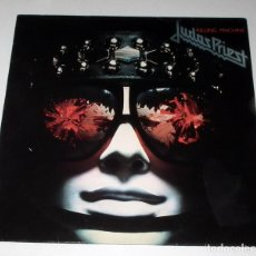 Discos de vinilo: LP JUDAS PRIEST - KILLING MACHINE. Lote 34487638