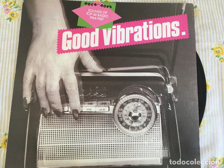 LP ROCK OF AGES-SOUNDS OF TOP 40 RADIO-GOOD VIBRATIONS-VARIOS (Música - Discos - LP Vinilo - Jazz, Jazz-Rock, Blues y R&B)