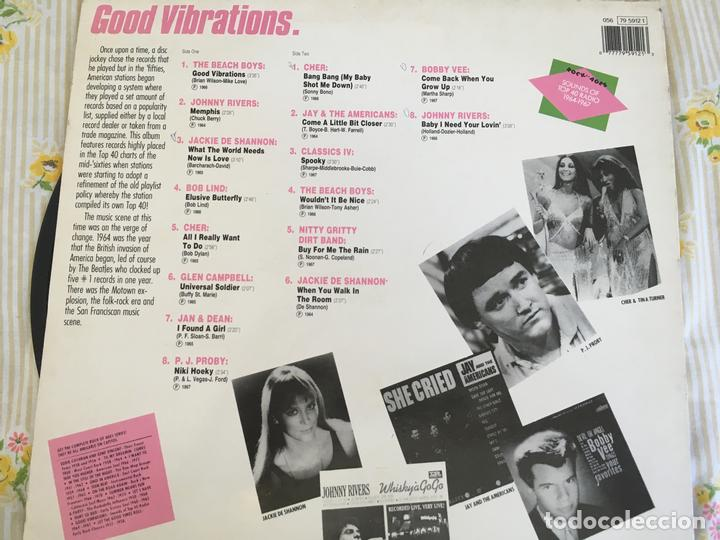 Discos de vinilo: LP ROCK OF AGES-SOUNDS OF TOP 40 RADIO-GOOD VIBRATIONS-VARIOS - Foto 2 - 85249580