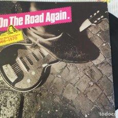 Discos de vinilo: LP ON THE ROAD AGAIN-ROCK'S NEW FRONTIERS 1966-1970-VARIOS. Lote 85250144