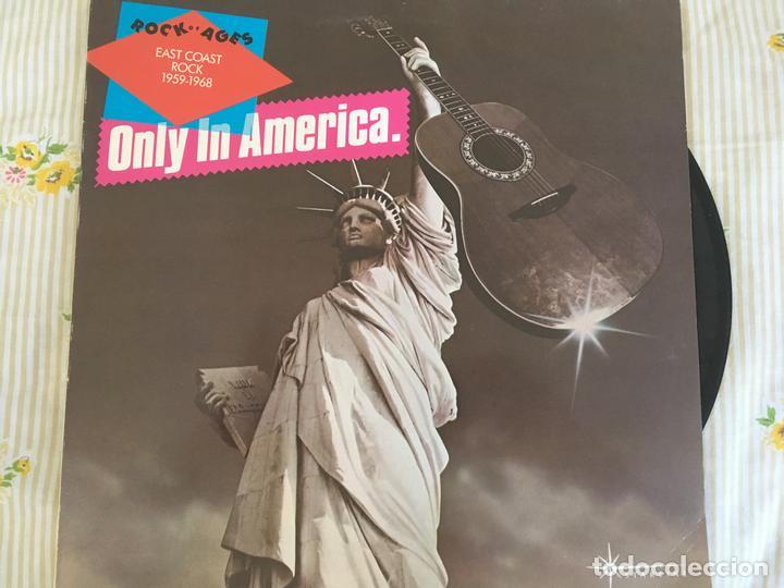 LP ROCK OF AGES-ONLY IN AMERICA-EAST COAST ROCK 1959-1968-VARIOS (Música - Discos - LP Vinilo - Jazz, Jazz-Rock, Blues y R&B)