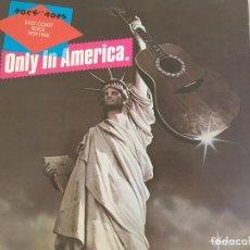 Discos de vinilo: LP ROCK OF AGES-ONLY IN AMERICA-EAST COAST ROCK 1959-1968-VARIOS. Lote 85250384
