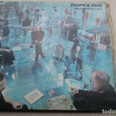 Discos de vinilo: FRIPP & ENO - NO PUSSYFOOTING - LP - 1973 ISLAND ARIOLA. Lote 85252596