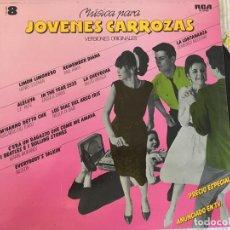 Discos de vinilo: LP JOVENES CARROZAS-VOL8-VARIOS. Lote 85252936