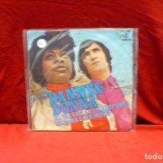 Discos de vinilo: DANNY & DONNA- EL VALS DE VLAS MARIPOSAS, DREAMS LIKE MINE, COLUMBIA, MO 1096, DEL 1971.. Lote 85252976