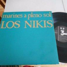 Discos de vinilo: LOS NIKIS-LP MARINES A PLENO SOL- PORT.ABIERTA 1985-BUEN ESTADO. Lote 262072110