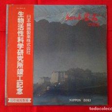 Discos de vinilo: DOBLE LP - MUSICA TRADICIONAL CHINA Y TIBET (NIPPON ZOKI) EDICION JAPONESA. Lote 85267312