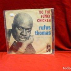 Discos de vinilo: RUFUS THOMAS-DO THE FUNKY CHICKEN, TURN YOUR DAMPER DOWN, STAX SN-20.354, DEL 1970, ESPAÑA.. Lote 85274936