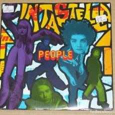 Discos de vinilo: INTASTELLA- PEOPLE/ BENDY- UK SINGLE 1991- INDIE ROCK /ELECTRONIC. Lote 85275932