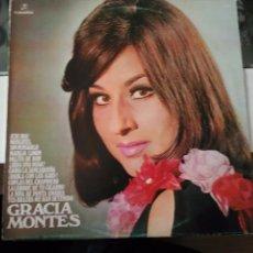 Discos de vinilo: GRACIA MONTES DISCO LP. Lote 85278588