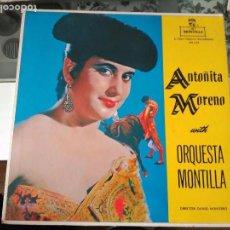 Discos de vinilo: ANTOÑITA MORENO LP SELLO ORQUESTA MONTILLA. Lote 85279248