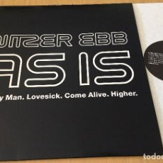 Discos de vinilo: NITZER EBB - ASIS - LP VINYL 1991 MADE IN UK. ELECTRONIC MUSIC.. Lote 85309040