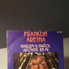Discos de vinilo: ARETHA FRANKLIN HARLEM ESPAÑOL. Lote 85324540