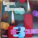 Discos de vinilo: LP - LOS TRES COLONOS - NAVIDADES EN HISPANOAMERICA (SPAIN, DISCOS VERGARA 1967). Lote 85328632