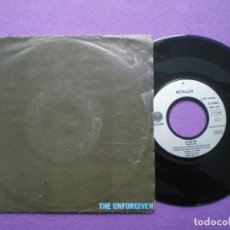 Discos de vinilo: METALLICA -THE UNFORGIVEN +1 -SINGLE ALEMANIA VERTIGO 1991 // TRASH METAL HEAVY. Lote 85332352