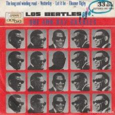 Dischi in vinile: RAY CHARLES - LOS BEATLES QUE AMO (EP 4 TEMAS 1980) 33 RPM. Lote 85342064