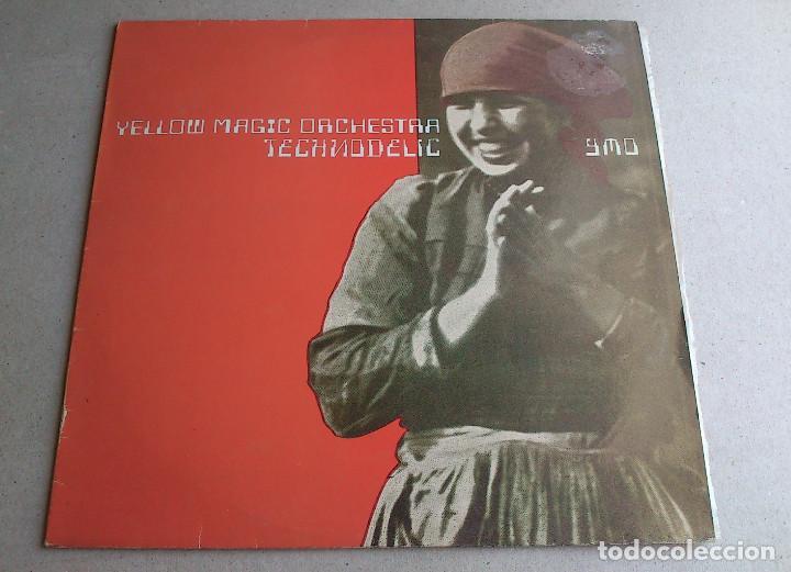 YELLOW MAGIC ORCHESTRA - TECHNODELIC - LP - 1982 (Música - Discos - LP Vinilo - Electrónica, Avantgarde y Experimental)