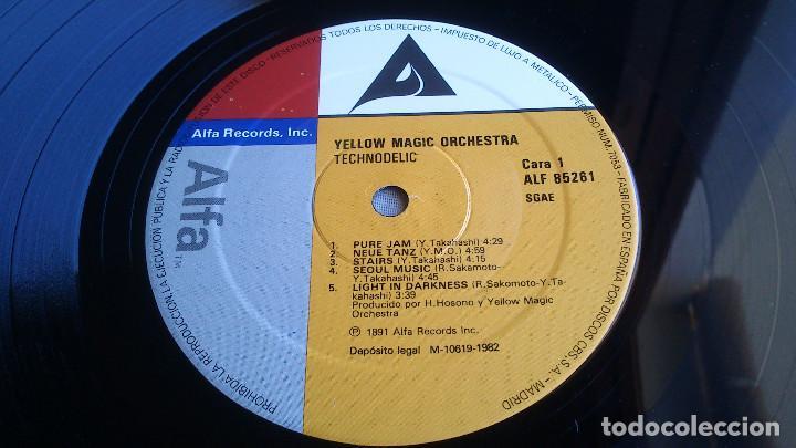 Discos de vinilo: YELLOW MAGIC ORCHESTRA - TECHNODELIC - LP - 1982 - Foto 3 - 85360916
