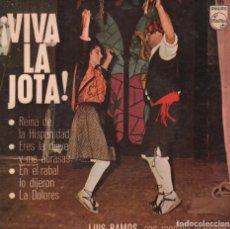 Dischi in vinile: VIVA LA JOTA - REINA DE LA HISPANIDAD / ERES LA NIEVE Y ME ABRASAS...EP PHILIPS DE 1966 RF-2332. Lote 85383836