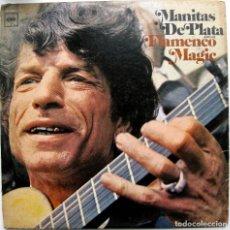 Discos de vinilo: MANITAS DE PLATA - FLAMENCO MAGIC - LP COLUMBIA 1967 USA MONO BPY. Lote 85389948