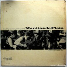 Discos de vinilo: MANITAS DE PLATA - FLAMENCO GUITAR VOLUMEN 2 - LP COLUMBIA 1966 USA BPY. Lote 85391528