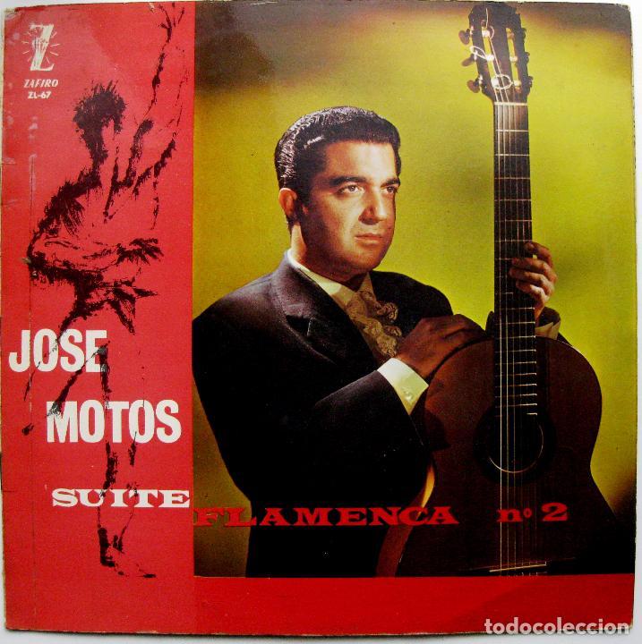 JOSE MOTOS - SUITE FLAMENCA N.2 - LP ZAFIRO 1963 BPY (Música - Discos - LP Vinilo - Flamenco, Canción española y Cuplé)