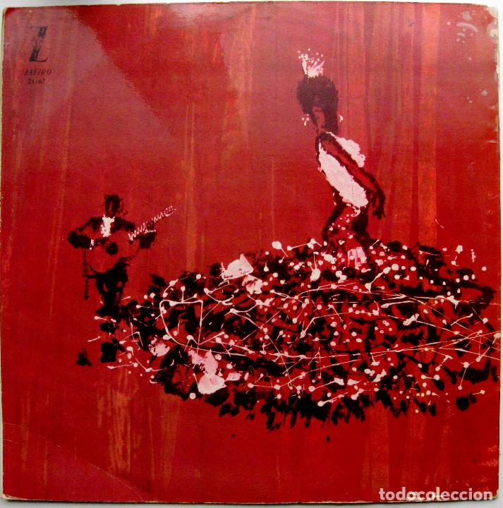 Discos de vinilo: Jose Motos - Suite Flamenca N.2 - LP Zafiro 1963 BPY - Foto 2 - 85405528