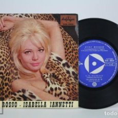 Discos de vinilo: DISCO EP DE VINILO - NINI ROSSO / ISABELLA IANNETTI. IL SILENZIO / NO, NON TI LASCERO - DURIUM, 1965. Lote 85407412