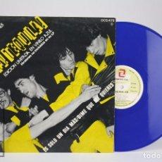 Discos de vinilo: DISCO MAXI SINGLE DE VINILO - TEQUILA. VIVA TEQUILA! - EDICIÓN LIMITADA EN VINILO AZUL -ZAFIRO, 1980. Lote 85408120