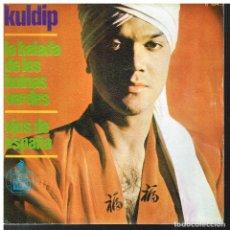 Discos de vinilo: KULDIP - LA BALADA DE LOS BOINAS VERDES / OJOS DE ESPAÑA - SINGLE 1966. Lote 85408624