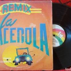 Discos de vinilo: LOS MELÓDICOS LA CACEROLA REMIXES MAXI SINGLE. Lote 138052053