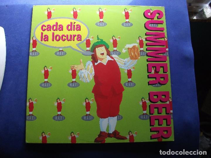 MAXI NACHO GARCIA VEGA - CADA DIA LA LOCURA - CRUZCAMPO 1995 PEPETO (Música - Discos de Vinilo - Maxi Singles - Solistas Españoles de los 70 a la actualidad)