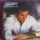 Discos de vinilo: LP - JULIO IGLESIAS - UN HOMBRE SOLO (SPAIN, CBS 1987). Lote 85440824