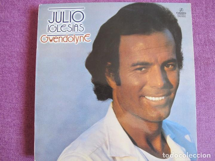 LP - JULIO IGLESIAS - GWENDOLYNE (SPAIN, COLUMBIA 1970) (Música - Discos - LP Vinilo - Solistas Españoles de los 70 a la actualidad)