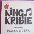 Discos de vinilo: LP - KING KRIBLE - PLAZA NUEVA (SPAIN, COLISEUM 1991). Lote 85442048