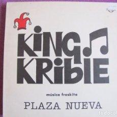 Discos de vinilo: LP - KING KRIBLE - PLAZA NUEVA (SPAIN, COLISEUM 1991). Lote 85442048