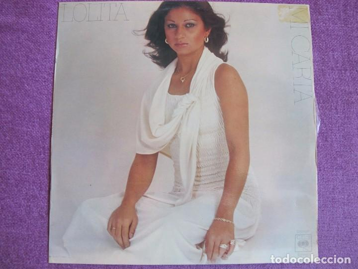 LP - LOLITA - MI CARTA (SPAIN, CBS 1977) (Música - Discos - LP Vinilo - Solistas Españoles de los 70 a la actualidad)