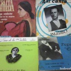 Discos de vinilo: IDOLOS DEL FLAMENCO. Lote 85450392
