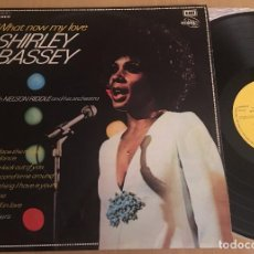 Discos de vinilo: SHIRLEY BASSEY - WHAT NOW MY LOVE - LP VINYL 1973 ED SPAIN - EMI / REGAL POP VINILO - VINYL VG+ . Lote 85470552
