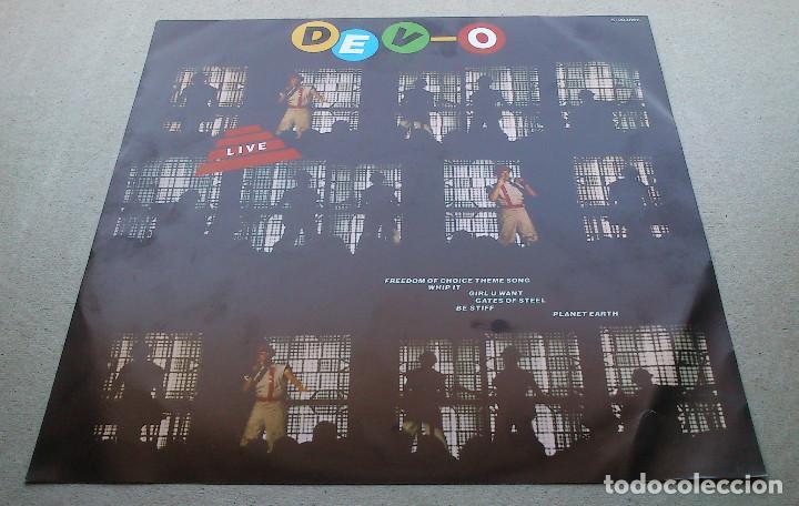 DEVO - LIVE - LP - 1982 - ARIOLA (Música - Discos - LP Vinilo - Electrónica, Avantgarde y Experimental)